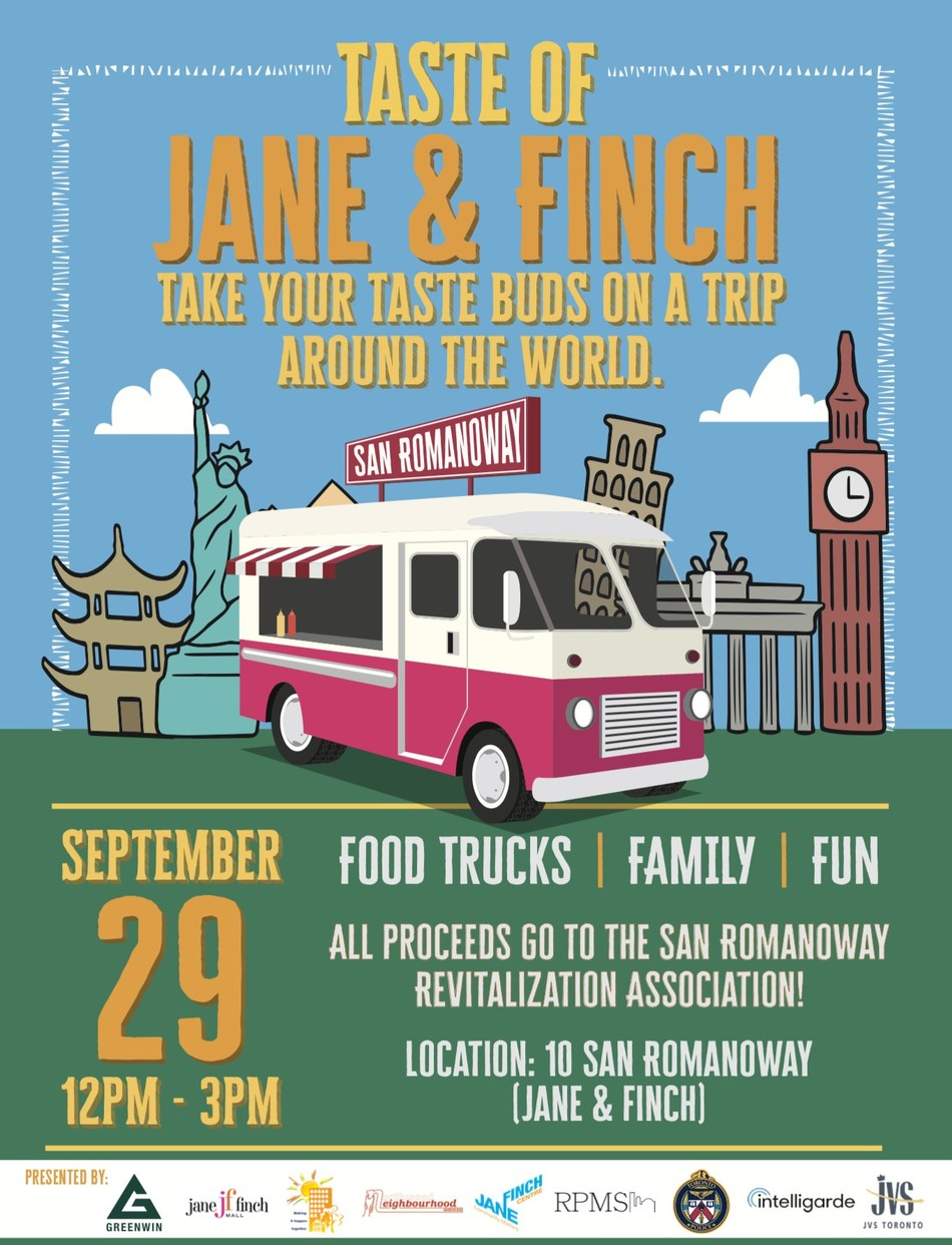 Greenwin Inc. and Community Partners Announce Inaugural Taste of Jane & Finch (CNW Group/Greenwin Inc.)