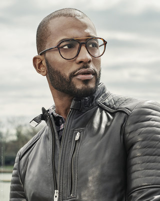 One of the current campaign images for the Timberland® Fall/Winter 2018 Eyewear collection