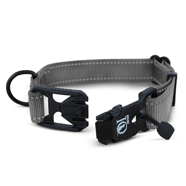 A magnetic dog collar like no other.
