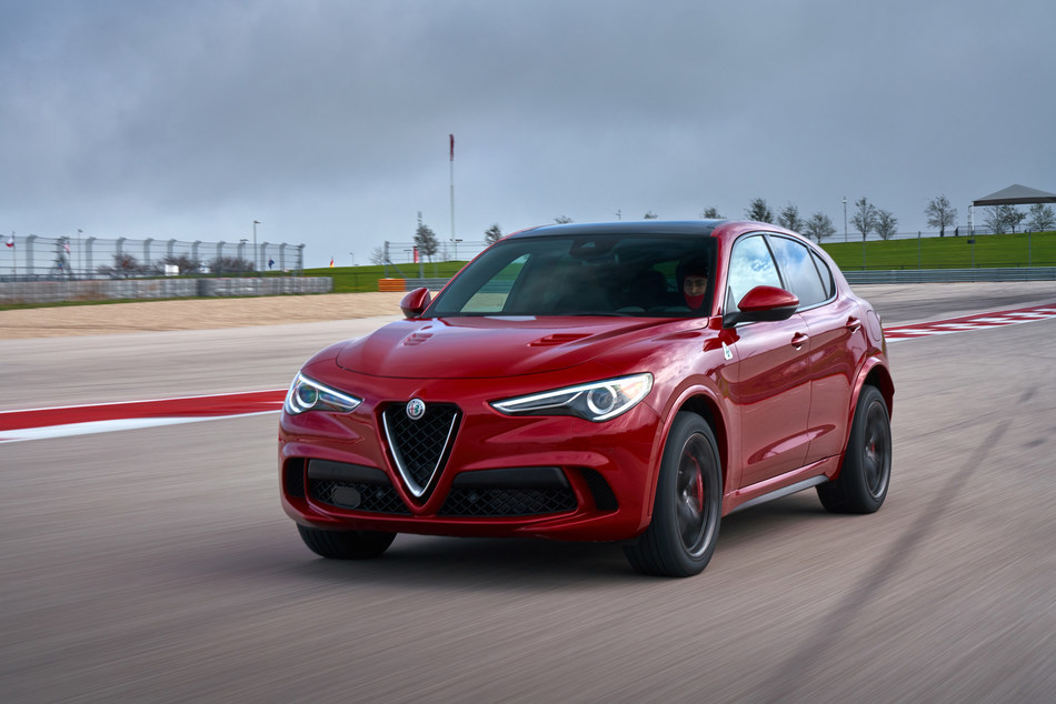 Alfa Romeo Stelvio Quadrifoglio named Performance SUV of the Year by Automotive Video Association