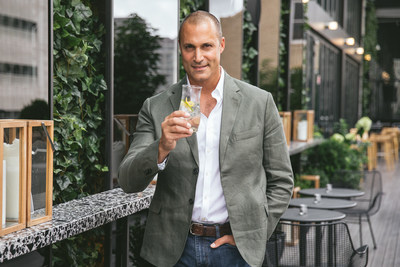 AC Hotels By Marriott® & Photographer Nigel Barker Debut Custom Gin Tonic Glass Designed To Heighten Taste, Aroma And Palate Experience