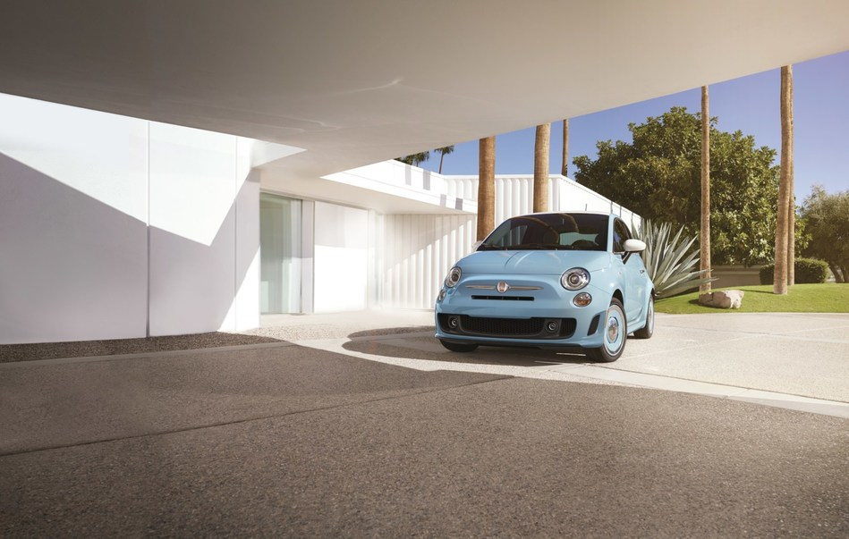 The new Fiat 500 1957 Edition complements its updated iconic silhouette with a vintage look and comes with the standard 1.4-liter MultiAir Turbo engine delivering 135 horsepower and 150 lb.-ft. of torque.