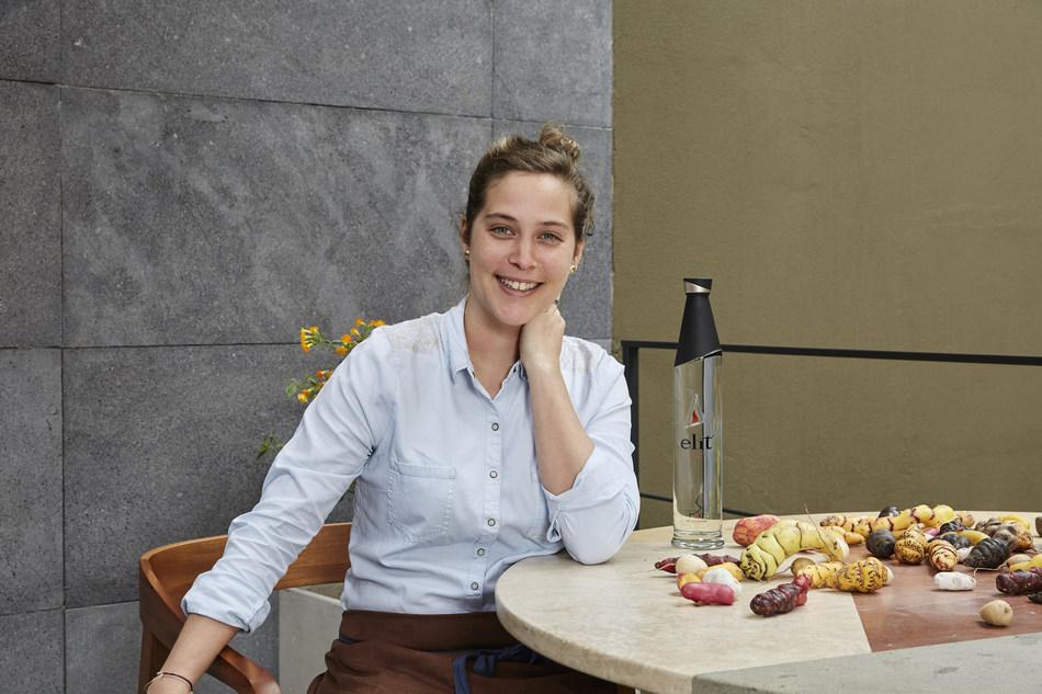 Pía León recibe el premio elit® Vodka Latin America's Best Female Chef 2018 (Latin America's 50 Best Restaurants)