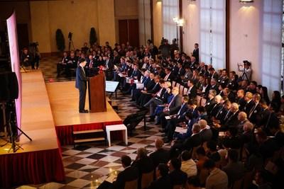 L'accent est mis sur la coopération Chine-ECO lors de l'édition de Prague du Forum sur l'Europe de la CEIBS (PRNewsfoto/China Europe International Busi)