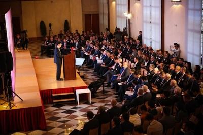 Foco na cooperação China-ECO na etapa de Praga do Fórum Europeu da CEIBS (PRNewsfoto/China Europe International Busi)
