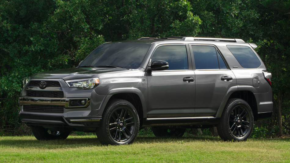 The 4Runner Nightshade Special Edition adds mystique to the Limited grade on which it's based with stylish upgrades that make it unique among its peers.