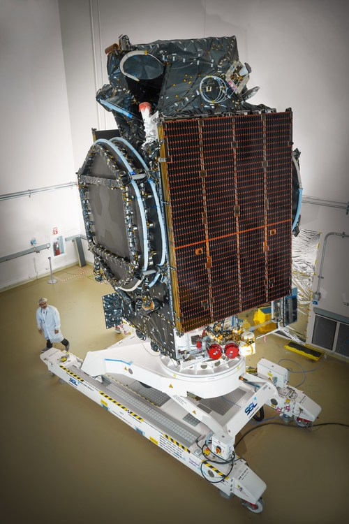 The SSL-built Azerspace-2/Intelsat 38 satellite was successfully launched and is performing according to plan. Image: SSL (CNW Group/Maxar Technologies Ltd.)