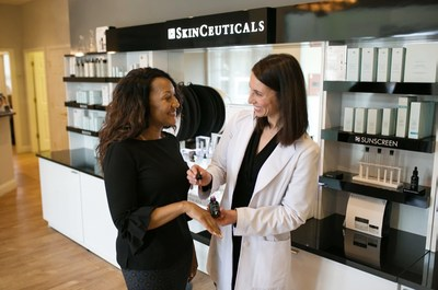 SkinCeuticals announces aesthetic center at Facial Aesthetics Center of Rhode Island.