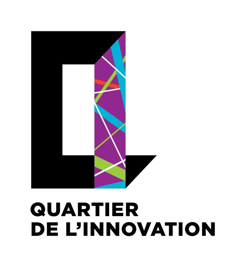 Logo : Quartier de l'innovation (QI) (Groupe CNW/Vidéotron)