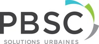 Logo : PBSC Solutions Urbaines (Groupe CNW/PBSC Solution Urbaines)