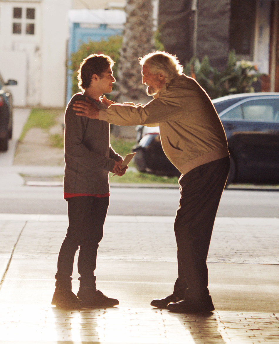 """Ryan Ochoa and Hal Linden in """"The Samuel Project"""""""