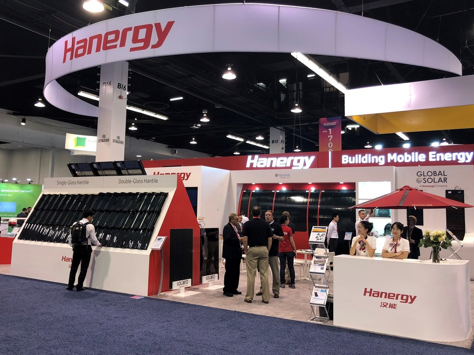 Hanergy showcases its pioneering energy solutions at SPI conference