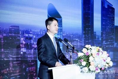 Adam Zeng, CEO da UNISOC, durante a China IC Summit de 2018