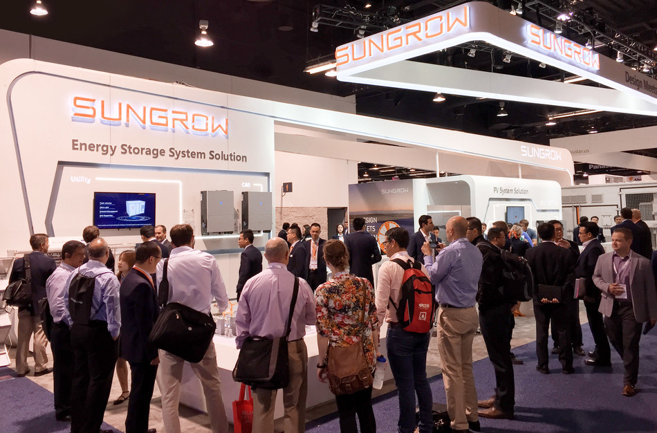 Sungrow Booth at SPI 2018