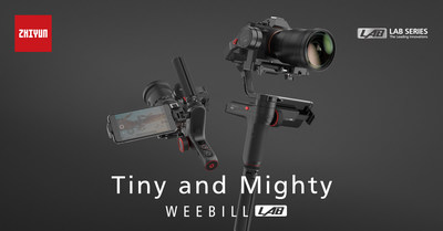 Zhiyun releases the new WEEBILL LAB stabilizer for mirrorless cameras