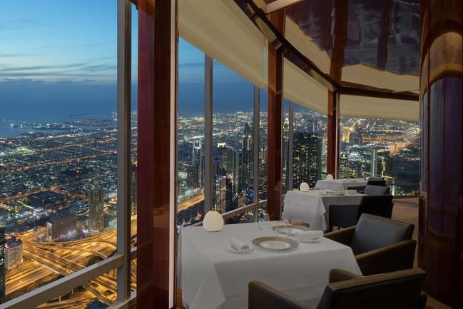 At.moshpere at Burj Khalifa in Dubai