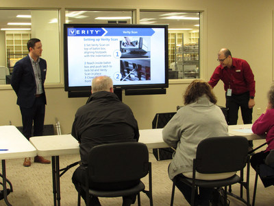 Hart InterCivic trainers spent a week with Hamilton County workers, staging a mock election so those who will be using Verity could evaluate the system.