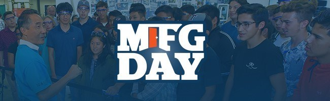 Manufacturing Day will take place on October 5, 2018. TourGuide Solutions is this year's tour guide system provider for Manufacturing Day tour hosts.