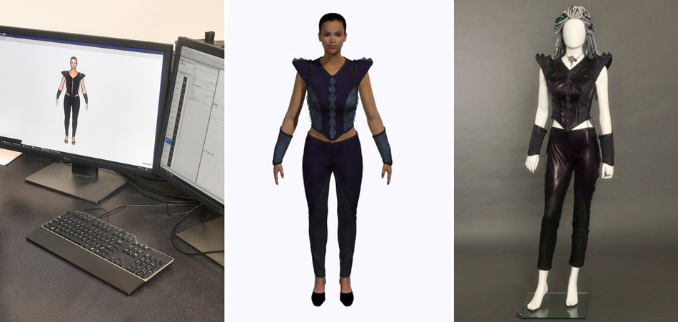 Universal Studios Costume Digital Design Workroom saves time in design, approval, and manufacturing.