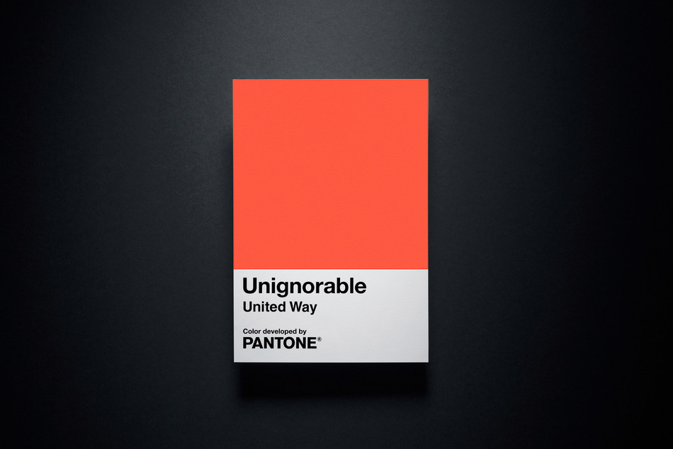 United Way and Pantone Color Institute™ Join Forces to Make Local Issues Unignorable (CNW Group/United Way Centraide)