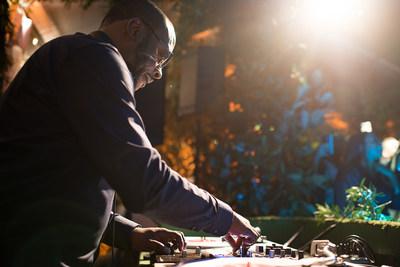 Local Philadelphia icon DJ Jazzy Jeff curated the evening's soundtrack