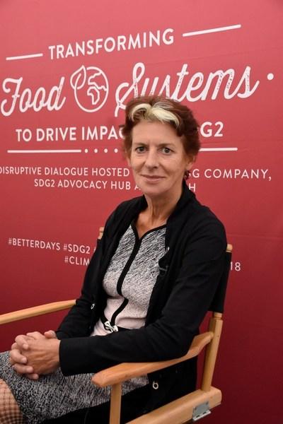 Gerda Verburg, Coordinator, Scaling Up Nutrition (SUN) Movement and U.N. Assistant Secretary-General