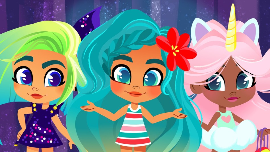 JUST PLAY APPOINTS WILDBRAIN TO PRODUCE NEW ORIGINAL CONTENT AND MANAGE YOUTUBE STRATEGY FOR HAIRDORABLES (CNW Group/DHX Media Ltd.)