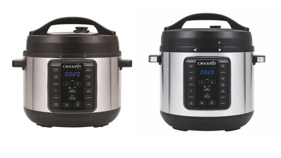 New Crock-Pot(R) 4-Quart and 8-Quart Express Crock Multi-Cookers