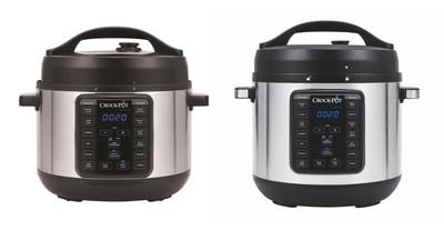New Crock-Pot(R) 4-Quart and 8-Quart Express Crock Multi-Cookers