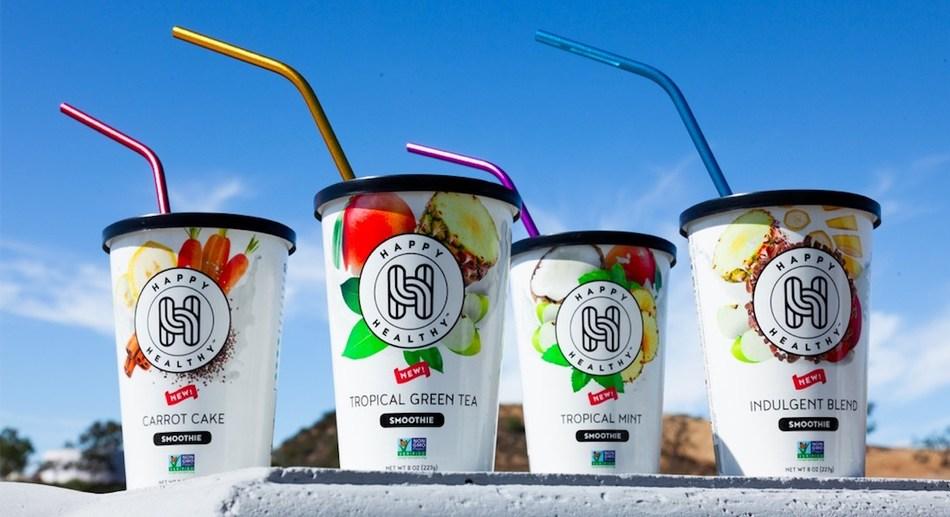 Happy Healthy Frozen Smoothies
