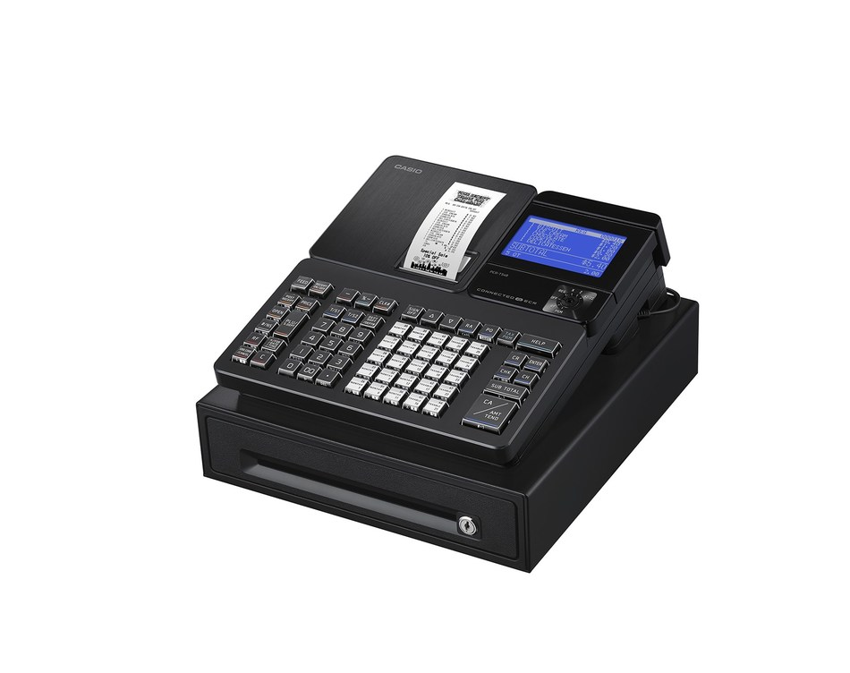 Casio's new PCR-T540 and PCR-T2500 cash registers meet retailer needs with Bluetooth connectivity, support tools and more