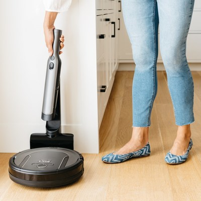 Shark® introduces the Shark® ION™ Robot Cleaning System, combining two innovative products in one cleaning system.