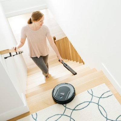 Shark® ION™ Robot Cleaning System takes whole-home cleaning to new heights.