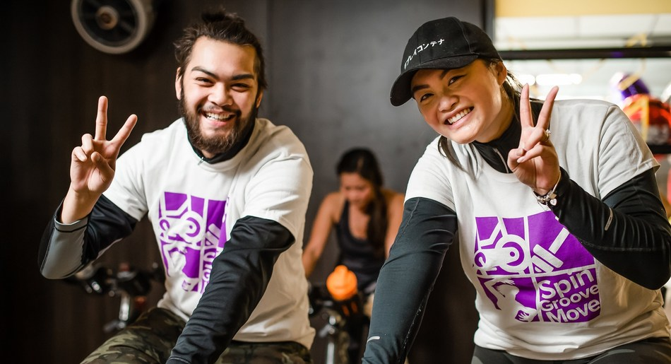 Sweat for a cause: Thousands of fitness lovers will ride spin bikes and sweat their way through group fitness classes at Spin4Kids events across Canada November 17 to raise money to help kids with special needs get active. Organized by GoodLife Kids Foundation, Spin4Kids one-day fitness fundraisers will take place in 100 communities with a goal to raise $1 million. To sign up, visit spin4kids.com (CNW Group/GoodLife Kids Foundation)