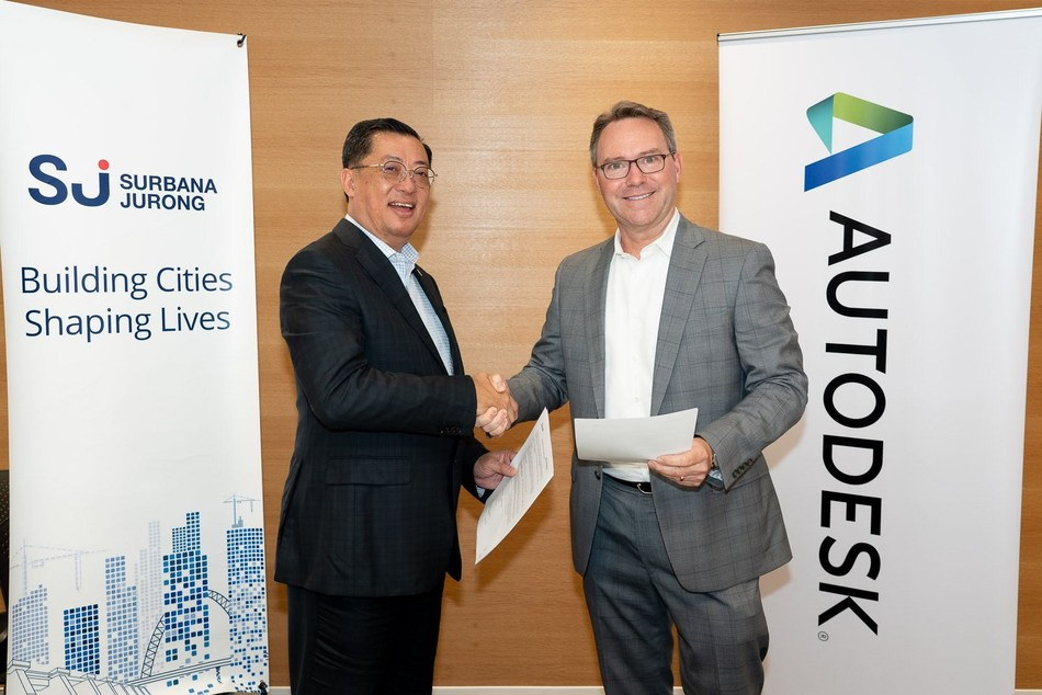 Surbana Jurong and Autodesk Collaborate to Advance Technology Adoption and Digital Transformation