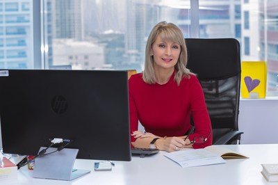 Debbie Stanford-Kristiansen, CEO of Novo Cinemas celebrates bumper year (PRNewsfoto/Novo Cinemas)