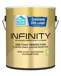 HGTV HOME by Sherwin-Williams INFINITY Paint available at Lowe's
