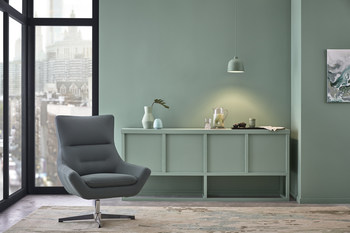 This harmonious green-blue is perfectly balanced, neutral enough to inspire our growth in any direction.