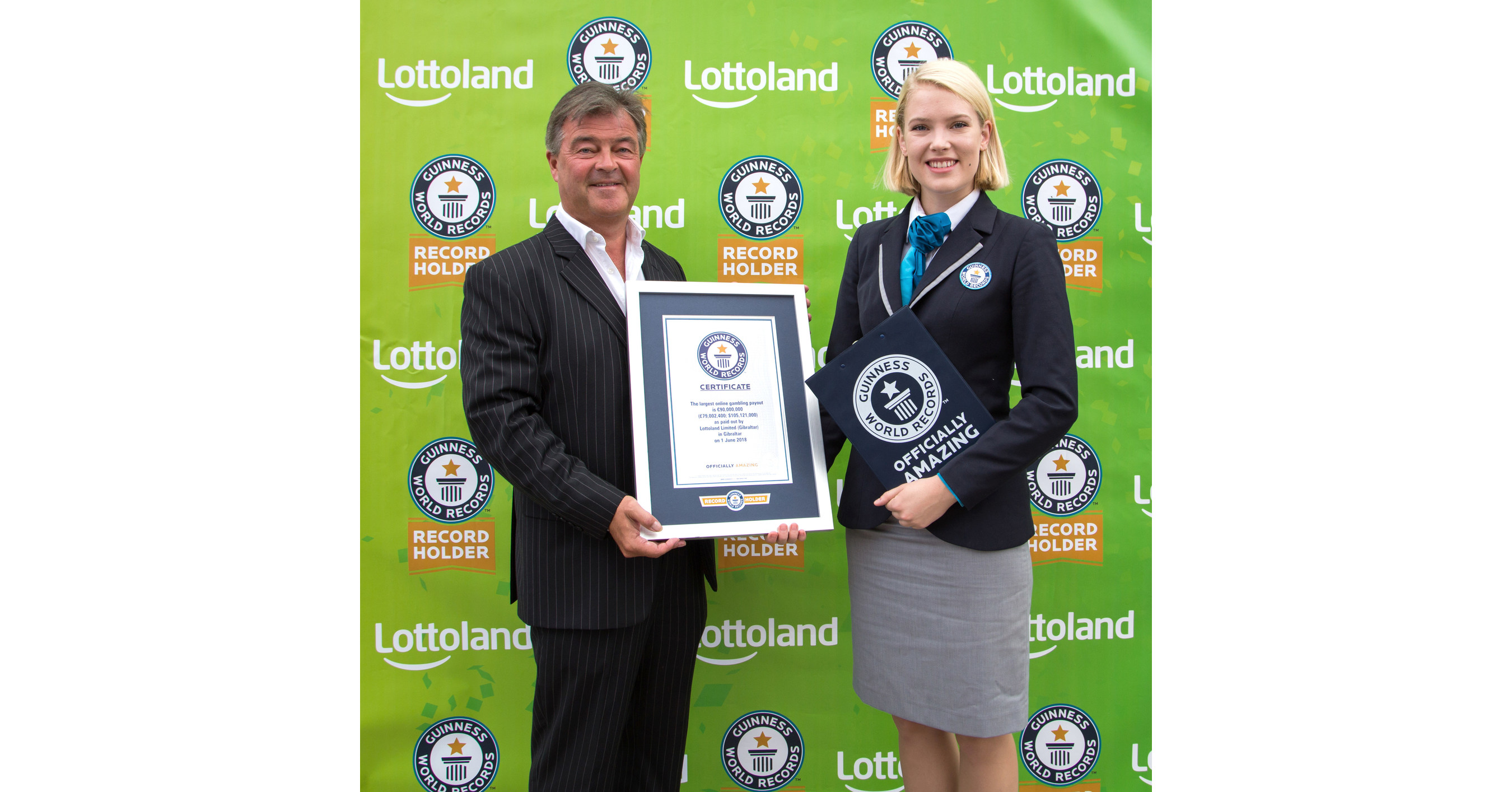 Lottoland Achieves Guinness World Records™ Title: €90 Million