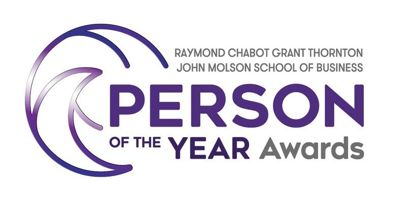 Logo: Raymond Chabot Grant Thornton & John Molson School of Business Person of the Year Awards (CNW Group/Raymond Chabot Grant Thornton)