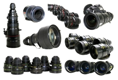 Birns & Sawyer's assets also include an array of high-quality individual lenses and sets.
