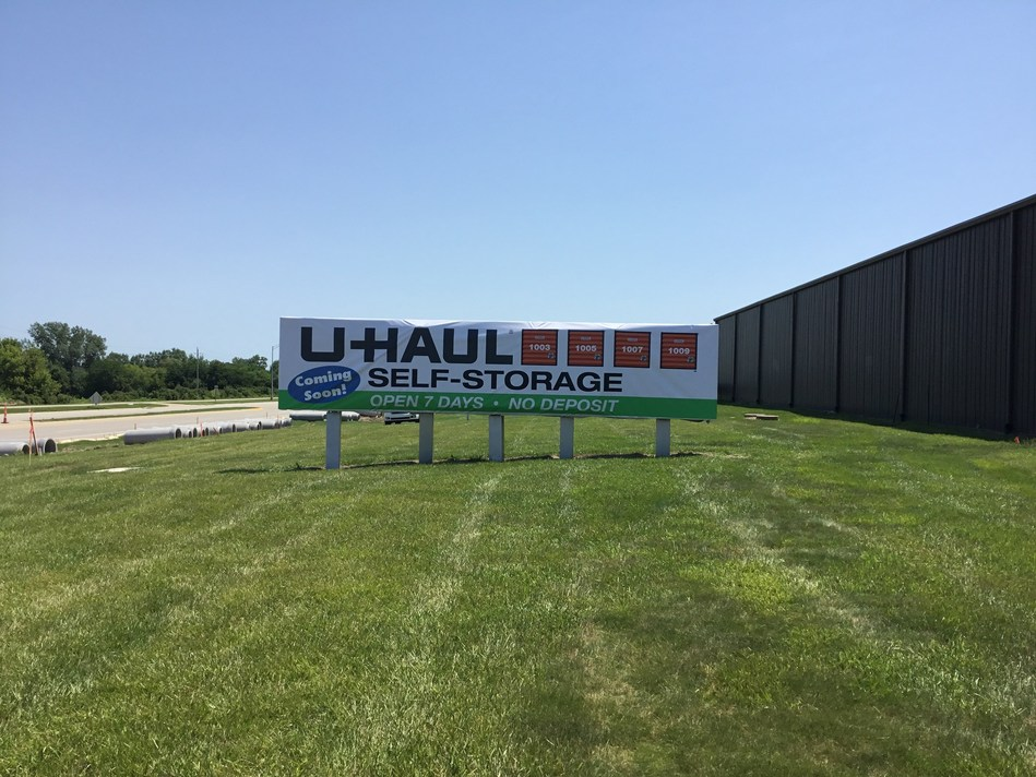 A state-of-the-art moving and self-storage facility is coming together at 16200 E. Hickman Road thanks to U-Haul® Company's acquisition of a 69,600-square-foot warehouse that last housed a Coca-Cola® Bottling Company distribution plant.