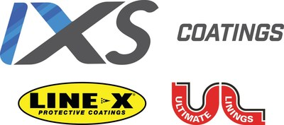 IXS Coatings is a global leader in high-performance, proprietary protective coatings engineered to enhance manufacturing and industrial operations. Combining the worldwide experience and prominence of the Ultimate Linings® and LINE-X® Protective Coatings brands – from proven impact on commercial work trucks; military/defense; oil and gas; light and heavy industrial; agricultural; marine; to countless other custom applications. Visit www.ixscoatings.com for more information. (PRNewsfoto/IXS Coatings)