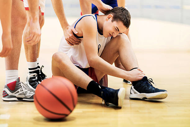 Ankle sprains are a common injury among athletes.