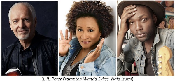 """PETER FRAMPTON TO HEADLINE THE ED ASNER FAMILY CENTER """"A NIGHT OF DREAMS"""" GALA WITH SPECIAL PERFORMANCES BY NAIA IZUMI AND OTHERS, HOSTED BY WANDA SYKES"""