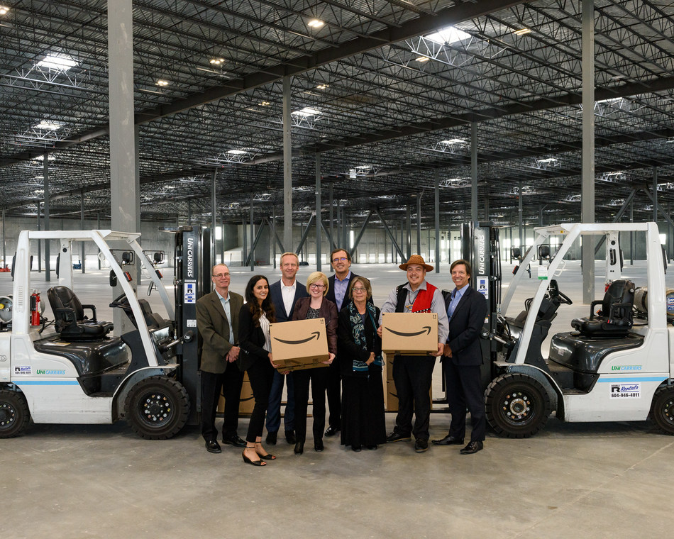 Amazon Expands in British Columbia with New Fulfillment Centre on Tsawwassen First Nation Lands at Deltaport (CNW Group/Amazon Canada)