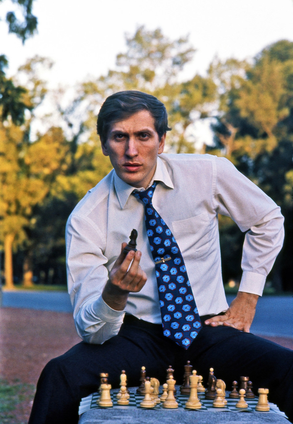 Harry Benson CBE, Bobby Fischer in Buenos Aires, 1971, Collection of Dr. Jeanne and Rex Sinquefield.