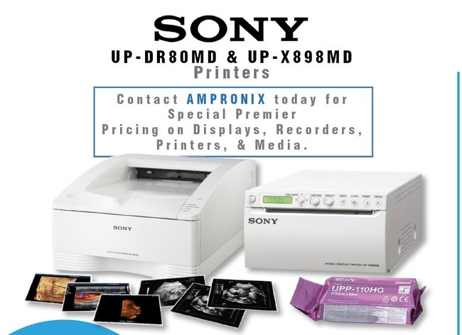 Sony introduces the latest medical printers available.