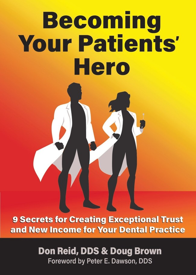 2D Image of Becoming Your Patients' Hero Cover (PRNewsfoto/BiteFX)