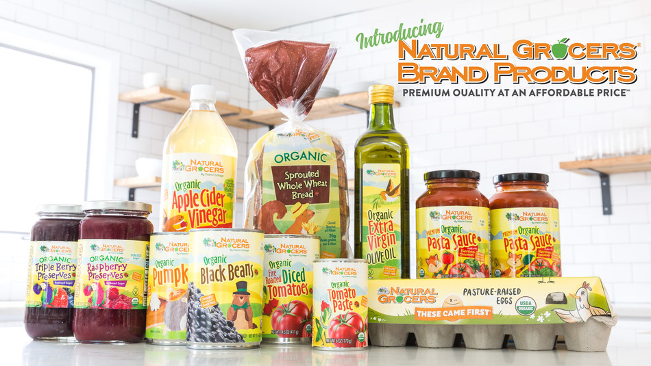 Now with over 50 products across 15 categories and many more in the pipeline, Natural Grocers goes all-in on the private label category